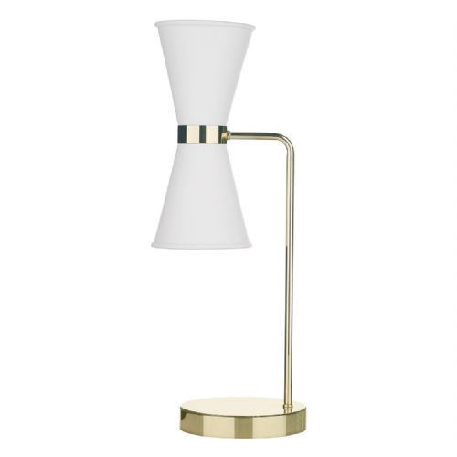 Hyde Table Lamp + Arctic White Metal Shade HYD4202 (7-10 day Delivery)